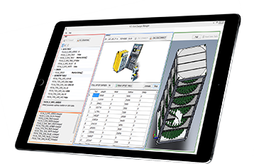 FCS System Automatisierung MES Software: Tool Manager Software